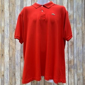 Lacoste Fire Engine Red Polo Shirt